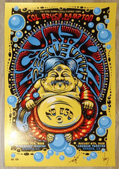 2015 Col. Bruce Hampton & Aquarium Rescue Unit - Atlanta/Athens Concert Poster by Jeff Wood