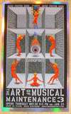 2006 Art of Musical Maintenance 3 Foil Variant Show Poster Emek