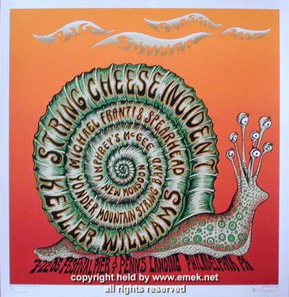 2005 Big Summer Classic - Philadelphia Red Variant Poster - Emek