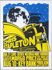 2019 Chris Stapleton - Burgettstown Silkscreen Concert Poster by Mike King