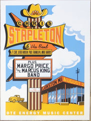 2019 Chris Stapleton - Clarkston Silkscreen Concert Poster by Mike King
