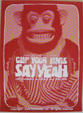 2006 Clap Your Hands Say Yeah Concert Poster by Todd Slater