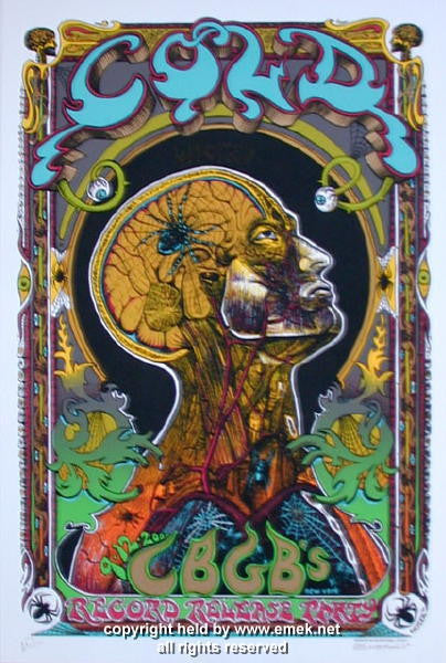 2000 Cold Silkscreen Poster by Emek