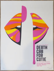 2019 Death Cab For Cutie - Boulder Silkscreen Concert Poster by Dan Stiles