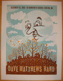 2005 Dave Matthews Band - Boston Concert Poster by Methane
