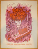 2006 Dave Matthews Band - Hershey Concert Poster by Methane