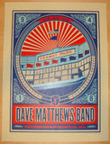 2009 Dave Matthews Band - Boston I Concert Poster by Methane