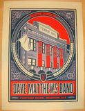 2009 Dave Matthews Band - Boston II Concert Poster by Methane