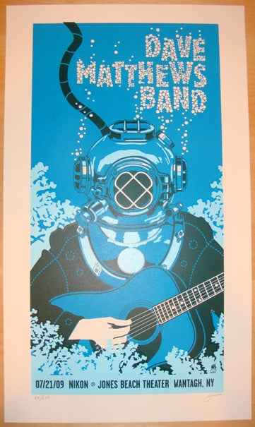 2009 Dave Matthews Band - Jones Beach I Poster by Methane