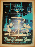 2009 Dave Matthews Band - LA II Concert Poster by Methane