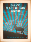 2010 Dave Matthews Band - Alpine II Concert Poster by Methane