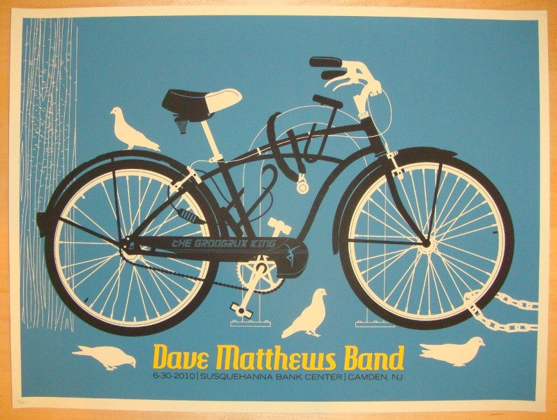 2010 Dave Matthews Band - Camden I Concert Poster by Methane