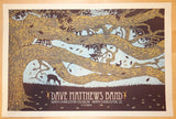 2010 Dave Matthews Band - Charleston Silkscreen Concert Poster by Methane