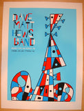 2010 Dave Matthews Band - Maryland Heights Poster by Methane