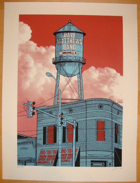 2010 Dave Matthews Band - Noblesville I Concert Poster Methane