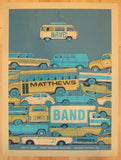 2013 Dave Matthews Band - Burgettstown Concert Poster by Methane