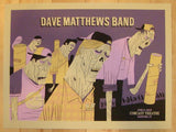 2013 Dave Matthews Band - Hartford II Concert Poster by Methane