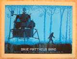 2013 Dave Matthews Band - Woodlands Concert Poster by Methane
