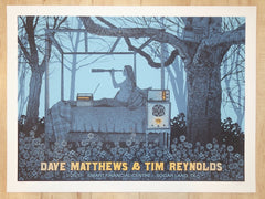 2017 Dave Matthews and Tim Reynolds - Sugarland Silkscreen Concert Poster by Methane
