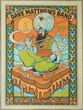2019 Dave Matthews Band - Alpine I Silkscreen Concert Poster by Methane