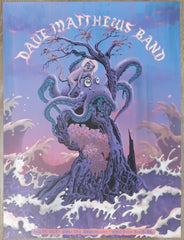 2019 Dave Matthews Band - West Palm II Silkscreen Concert Poster by Neal Williams