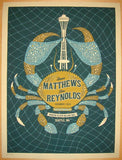 2010 Dave Matthews & Tim Reynolds - Seattle II Poster by Methane