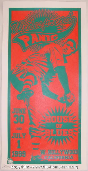 1999 Widespread Panic - LA Concert Poster - JT Lucchesi