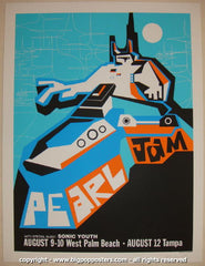 2000 Pearl Jam - West Palm Beach Concert Poster by Ames AP