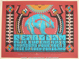 2000 Pearl Jam - Portland Silkscreen Concert Poster by Houston