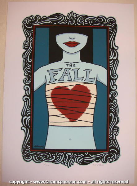 2004 The Fall - Silkscreen Concert Poster by Tara McPherson