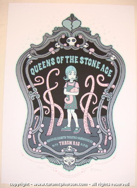 2005 Queens of the Stone Age - Concert Poster by Tara McPherson