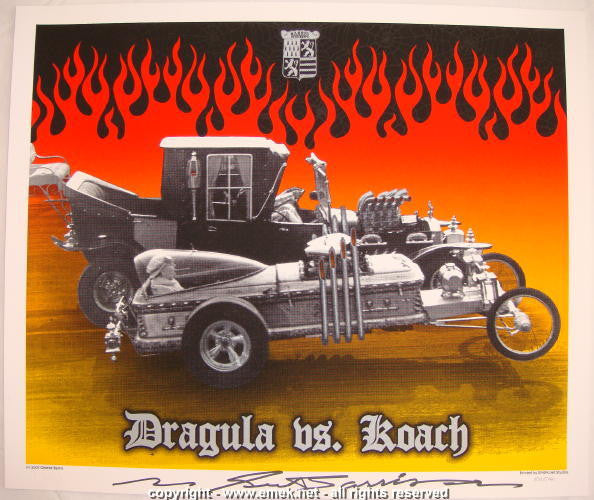 2005 Dragula Vs. Koach Art Print by Emek