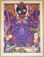 2017 Foo Fighters - Nashville Silkscreen Concert Poster by Tyler Stout