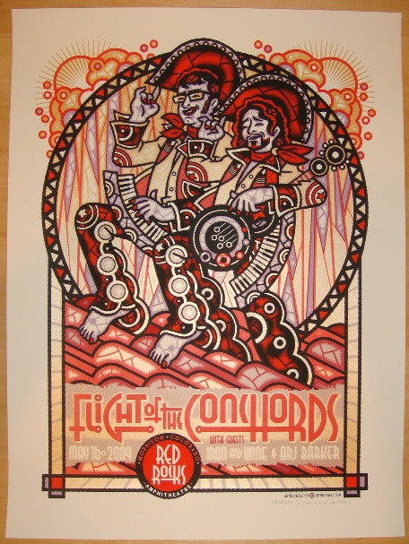 2009 Flight of the Conchords - Concert Poster by Guy Burwell