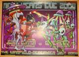 2008 Parliament Funkadelic - NYE Poster by Farmer & Firehouse