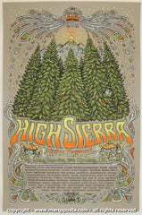 2008 High Sierra Music Festival Poster by Marq Spusta