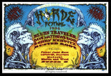 1996 HORDE w/ Dave Matthews Band & Blues Traveler Poster by Emek