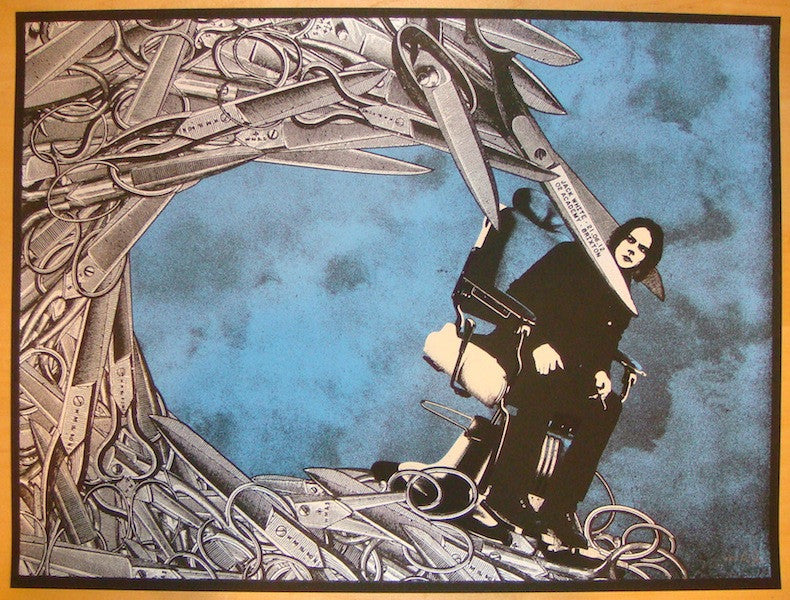 2012 Jack White - London II Concert Poster by Rob Jones
