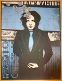 2012 Jack White - NYC III Silkscreen Concert Poster by Rob Jones