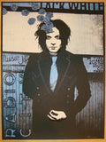 2012 Jack White - NYC IV Silkscreen Concert Poster by Rob Jones