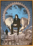 2012 Jack White - Red Rocks 1st Concert Poster by Rob Jones