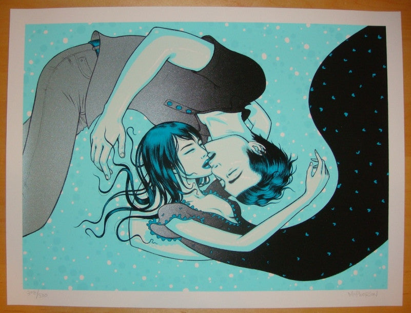 "2010 ""LOST - Jin & Sun"" - Silkscreen Art Print by Tara McPherson"