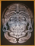 "2012 ""Lord Necronomicon"" - Silkscreen Art Print by Randy Ortiz"