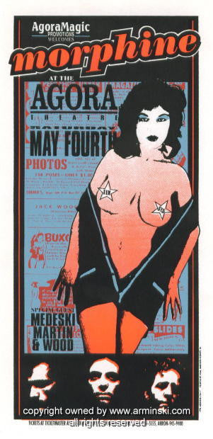 1996 Morphine w/ MMW Concert Poster by Mark Arminski (MA-9617)