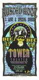 1996 Rusted Root w/ G Love Concert Poster by Arminski (MA-9639)