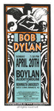 1997 Bob Dylan at Monmouth handbill by Mark Arminski (MA-9713)
