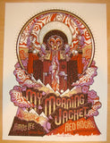 2011 My Morning Jacket - Red Rocks Concert Poster by Guy Burwell