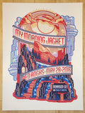 2016 My Morning Jacket - Red Rocks I Silkscreen Concert Poster by Guy Burwell