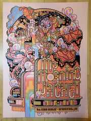 2017 My Morning Jacket - Broomfield II Pink Variant Concert Poster by Guy Burwell