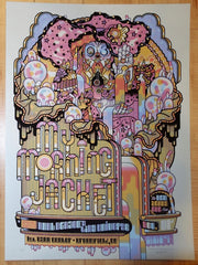 2017 My Morning Jacket - Broomfield III Green Variant Concert Poster by Guy Burwell